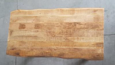 Baumkantentisch Mango 160 cm lang - 2,6 cm stark