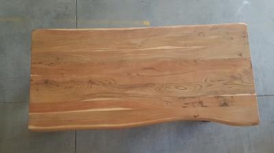 Baumkantentisch Akazie 200 cm lang - 3,6 cm stark