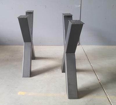 X-Gestell Metall / Rohstahl