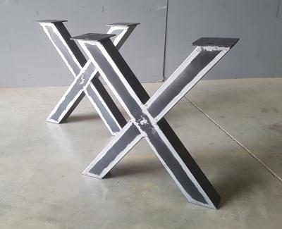 X-Gestell Metall im used look