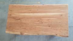 Baumkantentisch Akazie 180 cm lang - 2,6 cm stark