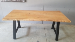 Baumkantentisch Akazie 180 cm lang - 3,6 cm stark