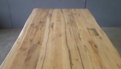 Tischplatte Eiche Länge 200 x Breite 100 cm / Stärke 4 cm