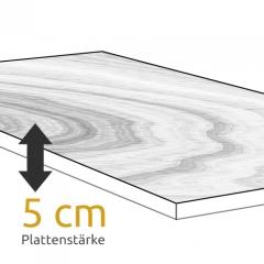 Konfigurieren Sie Ihren Esstisch mit 5 cm Plattenstärke